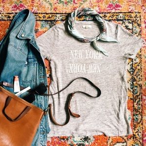Madewell New York Linen Tee